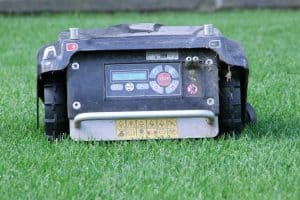 Robot Mower Control Panel