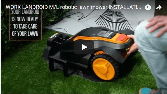 Worx Landroid Installation
