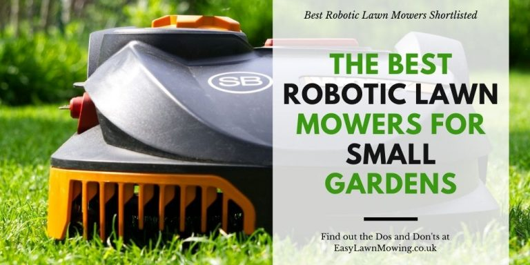 The Best Robotic Lawn Mowers For Small Gardens
