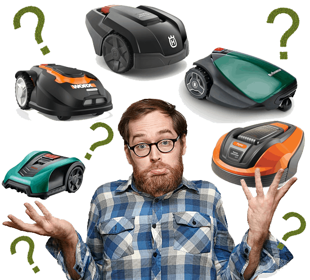 Robotic Lawn Mower Confused