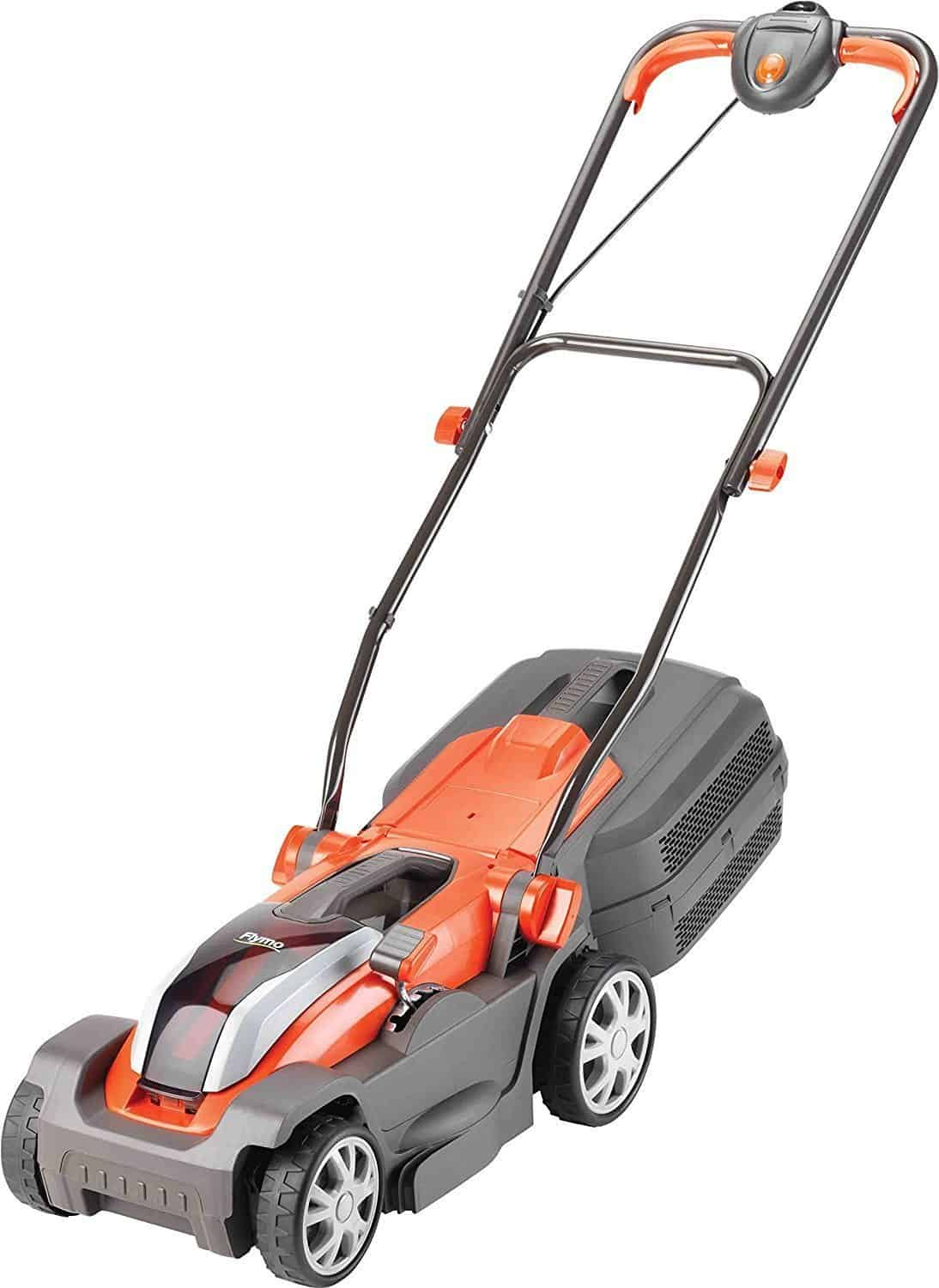 Flymo Mighti-Mo 300 Li Cordless Battery Lawn mower, 40 V