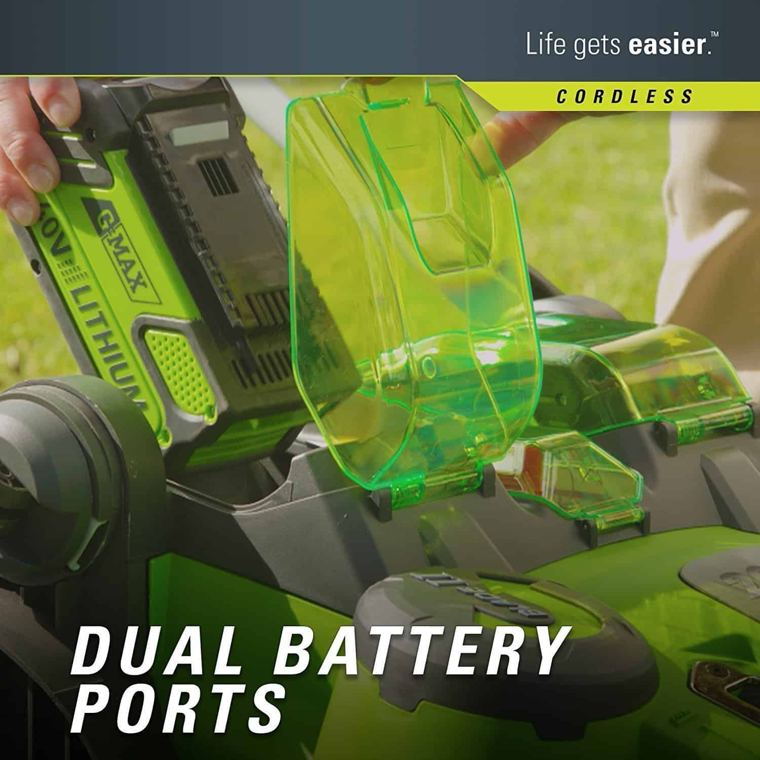 Greenworks Dual Battery