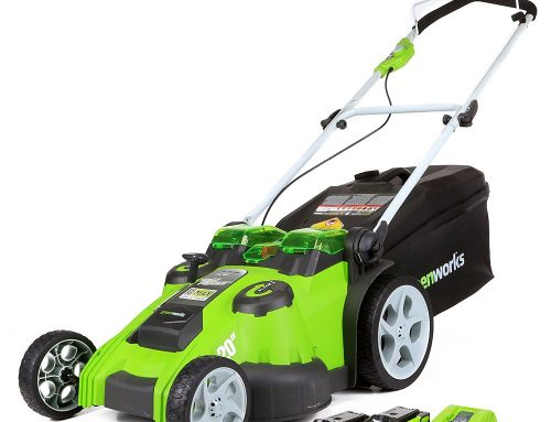 Greenworks 40V Cordless Dual Blade Lawn Mower Review 49cm (19″) with 2x 2Ah batteries and charger – 2500207UC