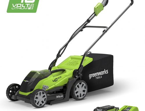 Greenworks 40V Cordless Lawn Mower Review 2019 – 35cm (14″) with 2Ah battery and charger – 2501907UA