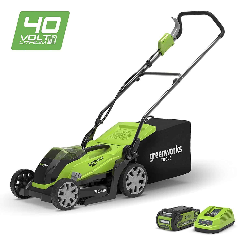 Greenworks 40V Cordless Lawn Mower 35cm