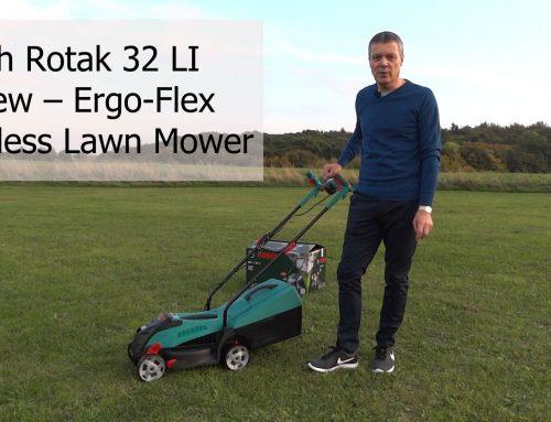 Bosch Rotak 32 LI Review – Ergo-Flex Cordless Lawn Mower