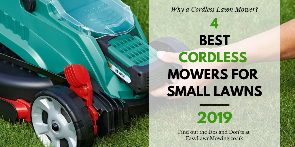 4 Best Cordless Lawn Mowers for Small Gardens