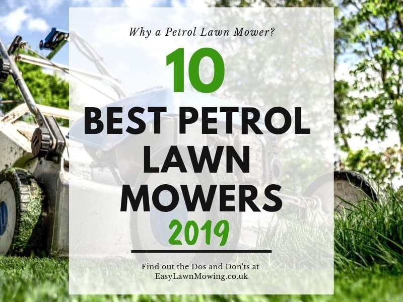 10 Best Petrol Lawn Mowers
