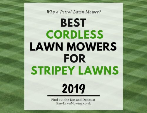 Best Cordless Lawn Mower for a Striped Lawn (Integrated Roller)