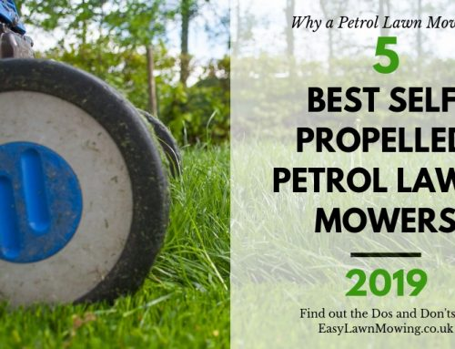 Best Self Propelled Petrol Lawn Mowers UK 2019
