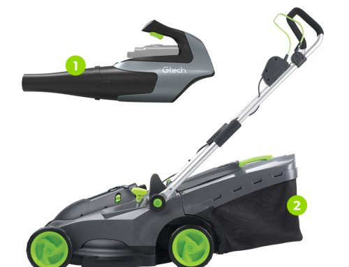 Gtech Autumn Garden Bundle –  Cordless Lawnmower & Leaf Blower (body only)