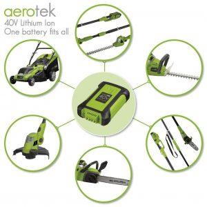 Aerotek Cordless Lawn Mower Battery