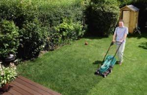 Bosch Rotak 34R garden