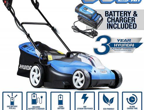 Hyundai Cordless 38cm Review 2019 – Battery Powered Lawn Mower HYM60LI380