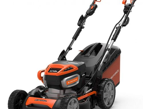 Yard Force 108V Li Review 2019 – 46cm Cordless Lawnmower LM T46