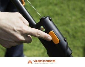 Yard Force 108V 46cm Safety