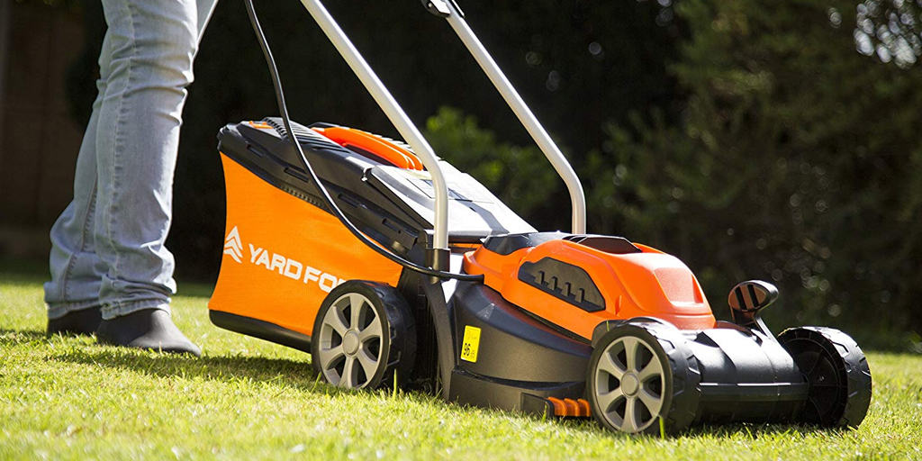 Yard Force 32cm Cordless Rotary Lawnmower