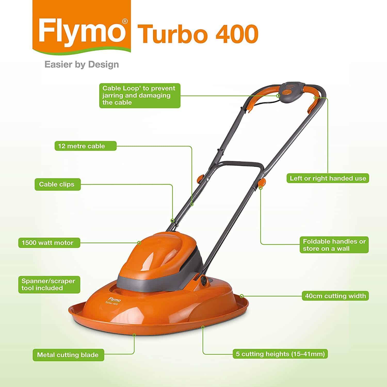 Flymo TurboLite 400 Spec
