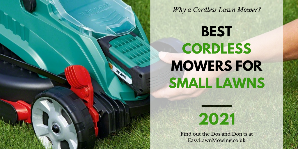 Best Cordless Lawn Mowers for Small Gardens