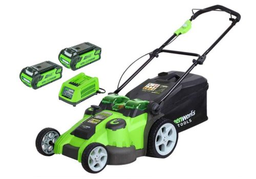 Greenworks 40V Cordless Lawn Mower Review 49cm - 2500207UC