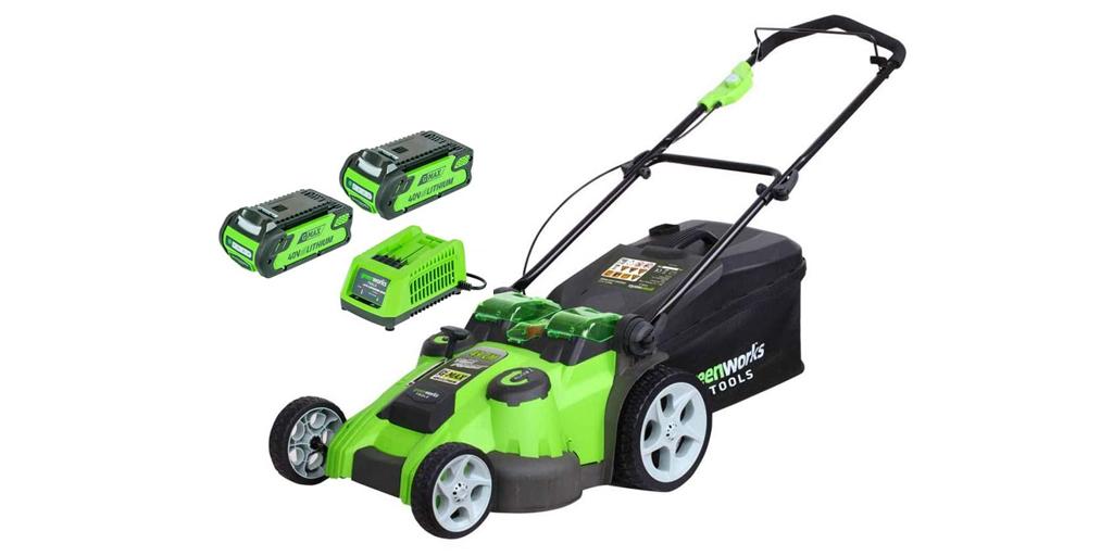Greenworks 40V Cordless Lawn Mower 49cm
