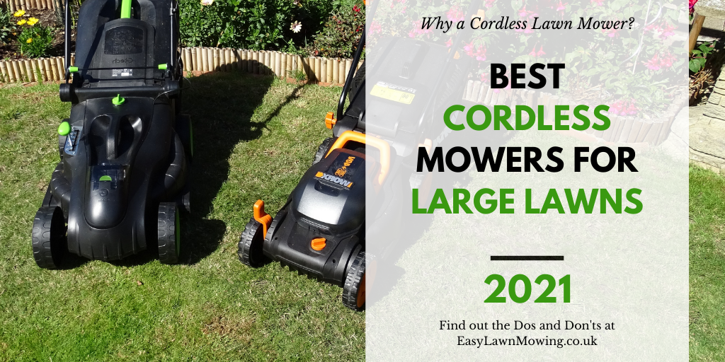 Best Cordless Lawn Mowers for Large Lawns