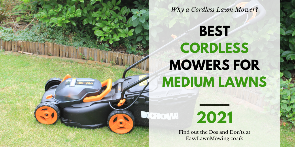 Best Cordless Lawn Mowers for Medium Gardens