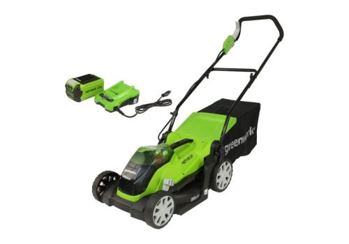 Greenworks G40LM35K2 Review - 35cm Cordless Lawn Mower