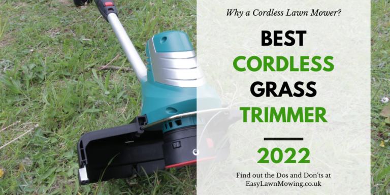 Best Cordless Grass Trimmer