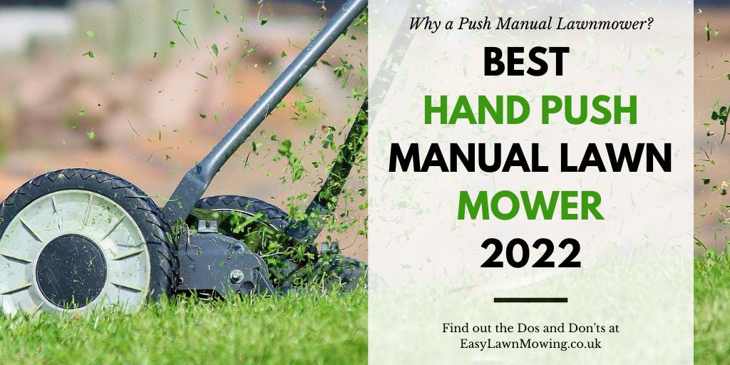 Best Hand Push Manual Lawn Mower