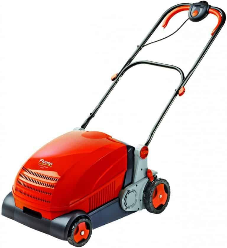 Flymo Lawnrake Compact 3400 Electric Lawn Rake Review
