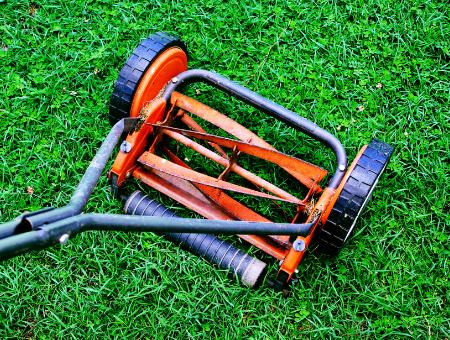 Push Manual Lawn Mower