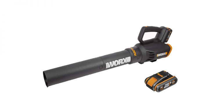 WORX WG547E 18V Cordless Air Turbine Garden Leaf Blower Review