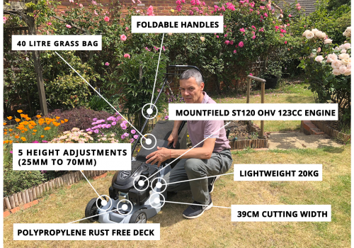 Mountfield SP41 Features