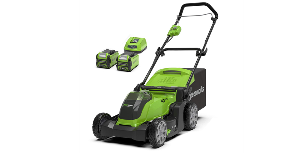 Greenworks 41cm Cordless Lawn Mower
