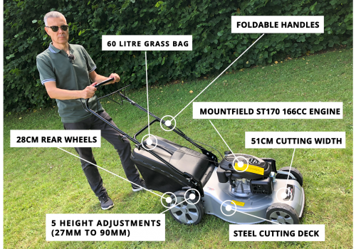 Mountfield SP53 Practicalities