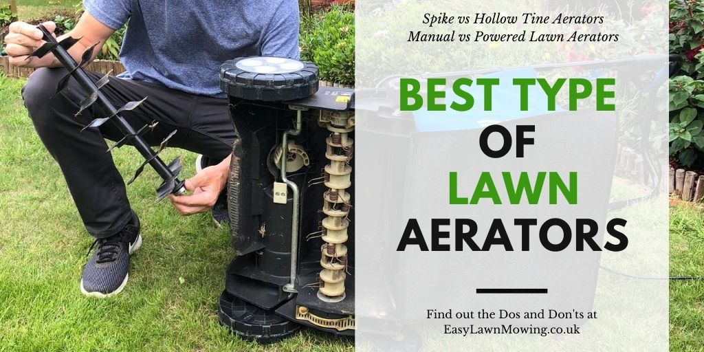 Best Type of Lawn Aerators