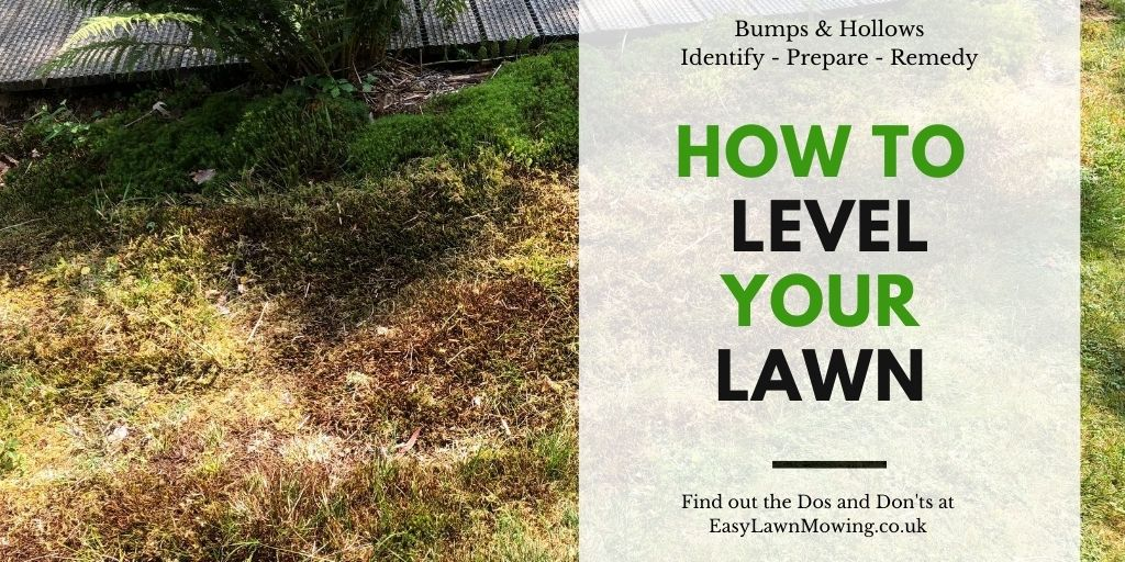 How to Level Your Lawn