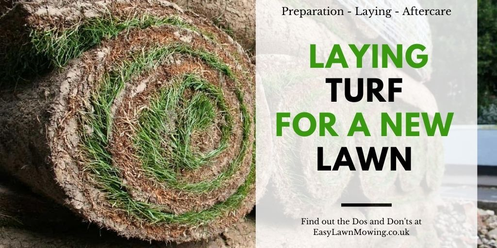 Laying Turf For a New Lawn
