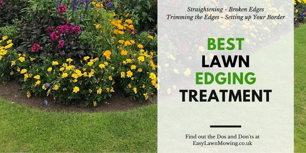 Best Lawn Edging Treatment