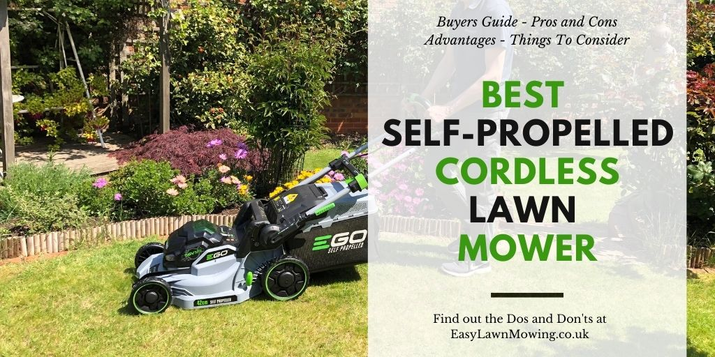 Best Self-Propelled Cordless Lawn Mower