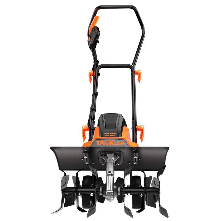 TACKLIFE Electric Tiller 1500W Review