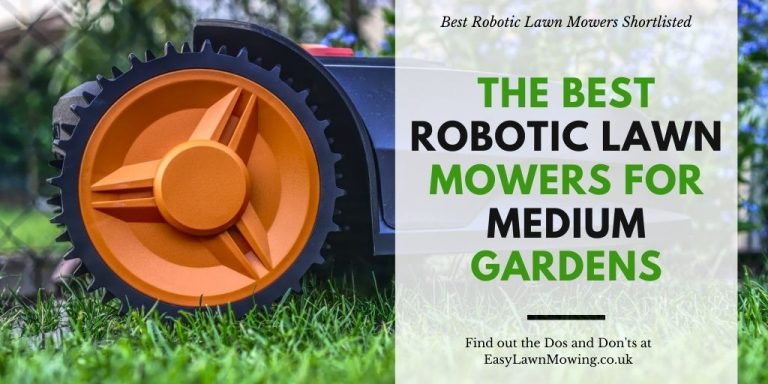 The Best Robotic Lawn Mowers For Medium Gardens