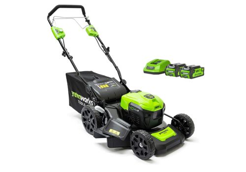 Greenworks GD40LM46SPK2x Review - Battery Cordless Lawn Mower