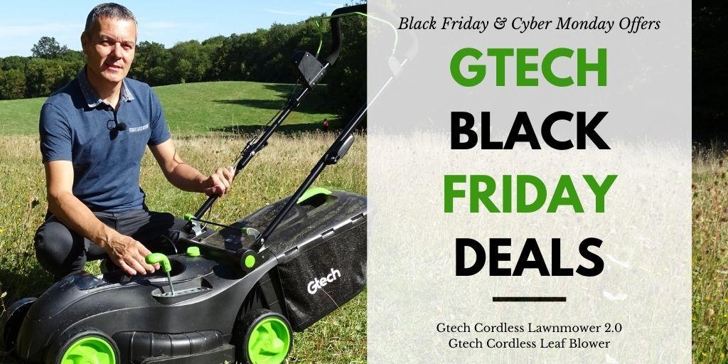 GTECH Black Friday Cyber Monday Deals