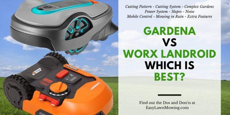 Gardena vs WORX Landroid – Which is Best