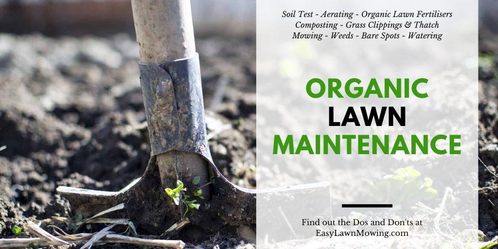 Organic Lawn Maintenance