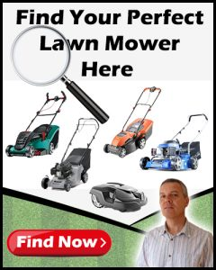 Find Mower Banner Mobile