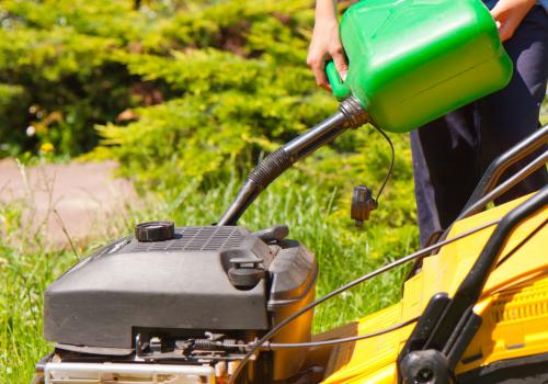Large Lawns Mower Maintenance