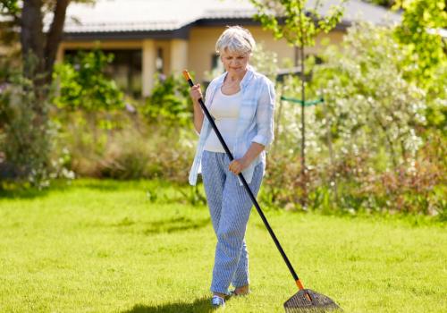 Lawn Maintenance for Elderly Gardeners